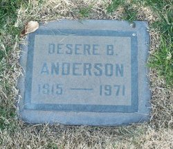 Desere B Anderson