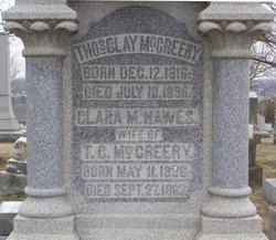Clara Massie <i>Hawes</i> McCreery