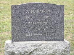 Hannah Catherine <i>Lochner</i> Haines