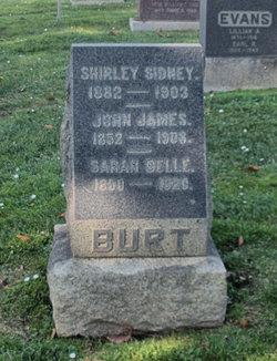 Sarah Belle <i>Webb</i> Burt