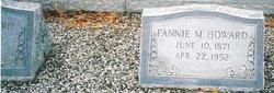 Fannie Idora Mozell Fannie <i>Rich</i> Howard