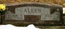 Delbert W Allen