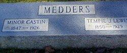 Tempie Jane <i>Lewis</i> Medders