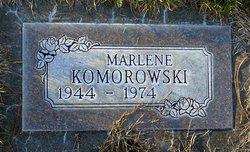 Marlene <i>Larkins</i> Komorowski
