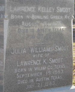 Julia Emma <i>Williams</i> Smoot