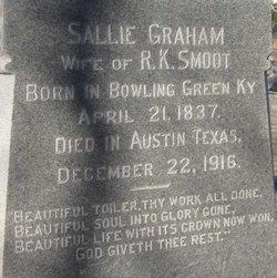 Sallie <i>Graham</i> Smoot