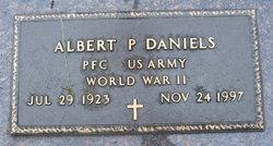 Albert P Daniels