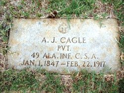 Pvt Andrew Jackson Cagle