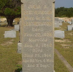 Julia Ann <i>Leatherwood</i> Leatherwood