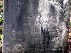 Julia M. Brown