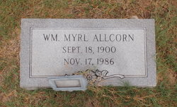 William Myrl Allcorn