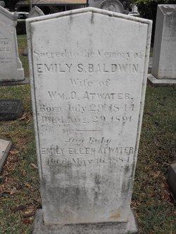 Emily S <i>Baldwin</i> Atwater