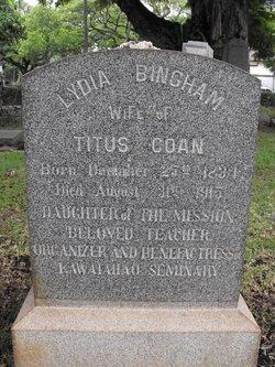 Lydia Bingham <i>Bingham</i> Coan