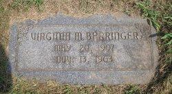 Virginia Myrel <i>King</i> Barringer