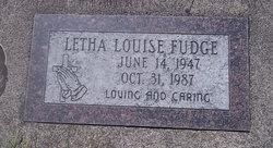 Letha Louise Fudge