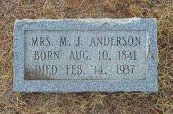Mary Jane <i>Riley Harwell</i> Anderson