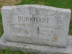 Verna Viola <i>Moss</i> Burkhart