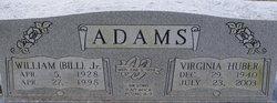 Virginia <i>Huber</i> Adams