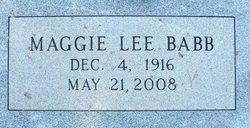 Maggie Lee <i>Allbright</i> Babb