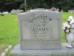 Claude A. Adams