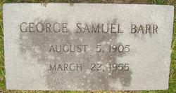 George Samuel Barr