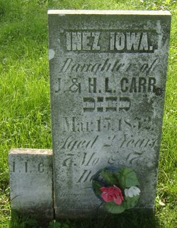 Inez Iowa Carr