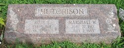 Ruth Elizabeth <i>Hunter</i> Hutchison