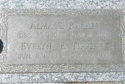Alma S Barnes