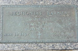 Pvt Jechonias Barnes