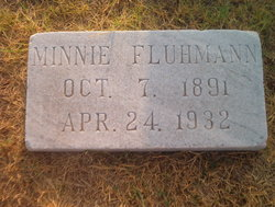 Minnie <i>Stolle</i> Fluhmann