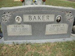 Frances Scott Fannie <i>Neville</i> Baker