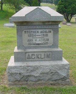 Anna M Acklin