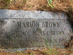 Marion <i>Dow</i> Brown
