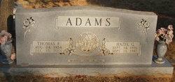 Hazel G <i>Emmerson</i> Adams