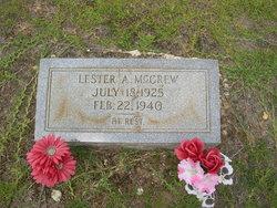 Lester A. McGrew