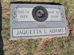 Jaquetta L Jackie Adams