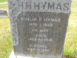 Julia Mary Ann <i>Poulsen</i> Hymas