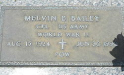 Corp Melvin B Bailey