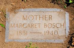 Mrs Margaret <i>Geib</i> Bosch