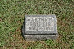 Martha <i>Burgess</i> Griffin