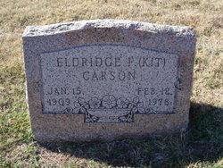 Eldridge F. Kit Carson