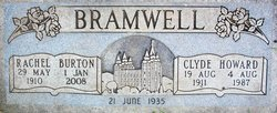 Rachel <i>Burton</i> Bramwell
