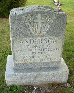 Annie M. <i>Jack</i> Anderson