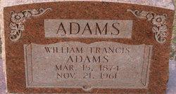 William Francis Adams
