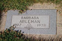 Barabara <i>Russell</i> Ableman