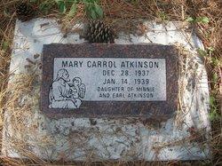 Mary Carrol Atkinson