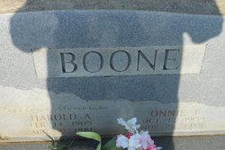 Harold A Boone