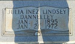 Julia Inez Lindsey <i>Andrews</i> Dannelley