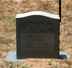 Mellie L. <i>Hall</i> Haire