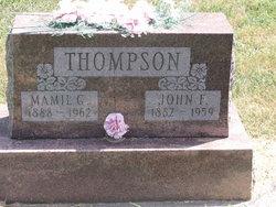 Mamie G. <i>Woolpert</i> Thompson